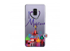 Coque Samsung Galaxy A8 2018 I Love Moscow