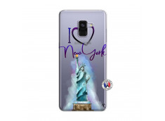 Coque Samsung Galaxy A8 2018 I Love New York