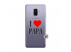 Coque Samsung Galaxy A8 2018 I Love Papa