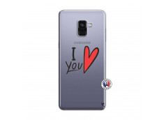 Coque Samsung Galaxy A8 2018 I Love You