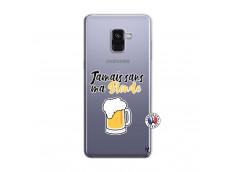 Coque Samsung Galaxy A8 2018 Jamais Sans Ma Blonde