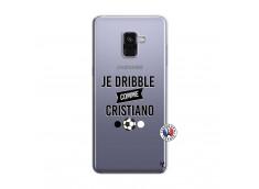 Coque Samsung Galaxy A8 2018 Je Dribble Comme Cristiano