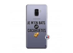 Coque Samsung Galaxy A8 2018 Je M En Bas Les Cacahuetes