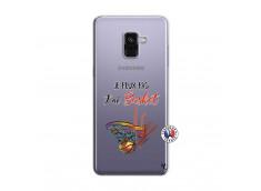 Coque Samsung Galaxy A8 2018 Je Peux Pas J Ai Basket