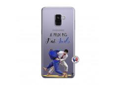 Coque Samsung Galaxy A8 2018 Je peux pas j'ai Judo