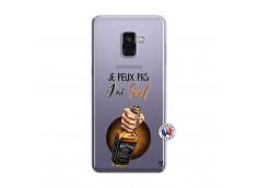 Coque Samsung Galaxy A8 2018 Je Peux Pas J Ai Soif