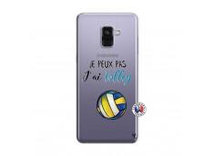 Coque Samsung Galaxy A8 2018 Je Peux Pas J Ai Volley