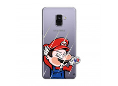 Coque Samsung Galaxy A8 2018 Mario Impact