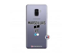 Coque Samsung Galaxy A8 2018 Marseillais à Vie