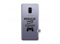 Coque Samsung Galaxy A8 2018 Monsieur Mauvais Perdant