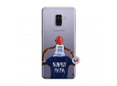 Coque Samsung Galaxy A8 2018 Papa Super Heros