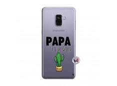 Coque Samsung Galaxy A8 2018 Papa Tu Piques