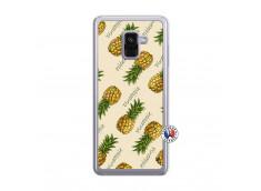 Coque Samsung Galaxy A8 2018 Sorbet Ananas Translu
