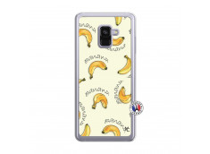 Coque Samsung Galaxy A8 2018 Sorbet Banana Split Translu