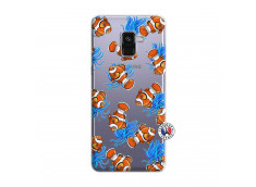 Coque Samsung Galaxy A8 2018 Poisson Clown