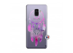 Coque Samsung Galaxy A8 2018 Purple Dreamcatcher
