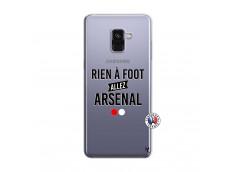 Coque Samsung Galaxy A8 2018 Rien A Foot Allez Arsenal