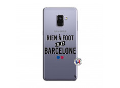 Coque Samsung Galaxy A8 2018 Rien A Foot Allez Barcelone