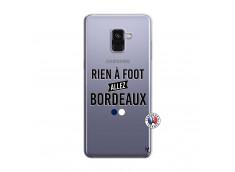 Coque Samsung Galaxy A8 2018 Rien A Foot Allez Bordeaux