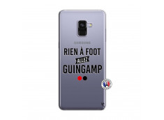 Coque Samsung Galaxy A8 2018 Rien A Foot Allez Guingamp