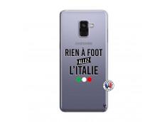 Coque Samsung Galaxy A8 2018 Rien A Foot Allez L'Italie