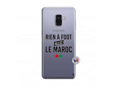 Coque Samsung Galaxy A8 2018 Rien A Foot Allez Le Maroc
