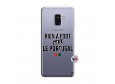 Coque Samsung Galaxy A8 2018 Rien A Foot Allez Le Portugal