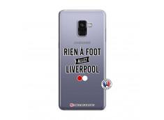 Coque Samsung Galaxy A8 2018 Rien A Foot Allez Liverpool