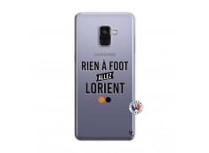 Coque Samsung Galaxy A8 2018 Rien A Foot Allez Lorient
