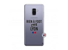 Coque Samsung Galaxy A8 2018 Rien A Foot Allez Lyon