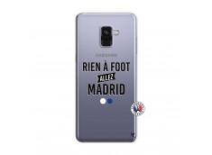 Coque Samsung Galaxy A8 2018 Rien A Foot Allez Madrid