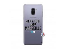 Coque Samsung Galaxy A8 2018 Rien A Foot Allez Marseille