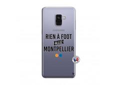 Coque Samsung Galaxy A8 2018 Rien A Foot Allez Montpellier