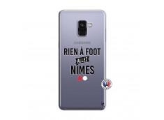 Coque Samsung Galaxy A8 2018 Rien A Foot Allez Nimes