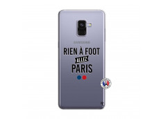 Coque Samsung Galaxy A8 2018 Rien A Foot Allez Paris