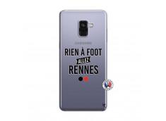 Coque Samsung Galaxy A8 2018 Rien A Foot Allez Rennes