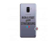 Coque Samsung Galaxy A8 2018 Rien A Foot Allez Strasbourg