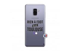 Coque Samsung Galaxy A8 2018 Rien A Foot Allez Toulouse