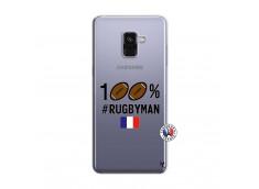 Coque Samsung Galaxy A8 2018 100% Rugbyman