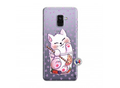 Coque Samsung Galaxy A8 2018 Smoothie Cat