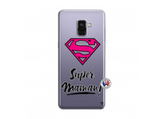 Coque Samsung Galaxy A8 2018 Super Maman