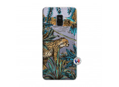 Coque Samsung Galaxy A8 2018 Leopard Jungle
