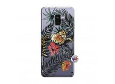 Coque Samsung Galaxy A8 2018 Leopard Tree