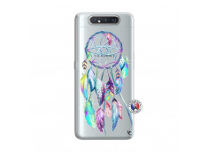 Coque Samsung Galaxy A80 Blue Painted Dreamcatcher