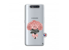 Coque Samsung Galaxy A80 Bouquet de Roses