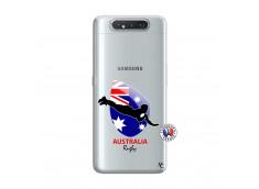Coque Samsung Galaxy A80 Coupe du Monde Rugby-Australia