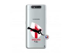 Coque Samsung Galaxy A80 Coupe du Monde Rugby-England