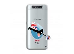 Coque Samsung Galaxy A80 Coupe du Monde Rugby Fidji