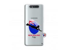 Coque Samsung Galaxy A80 Coupe du Monde Rugby- Nouvelle Zélande