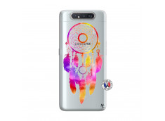 Coque Samsung Galaxy A80 Dreamcatcher Rainbow Feathers